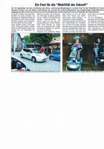 Mobilität und Theater JUZ Aussee